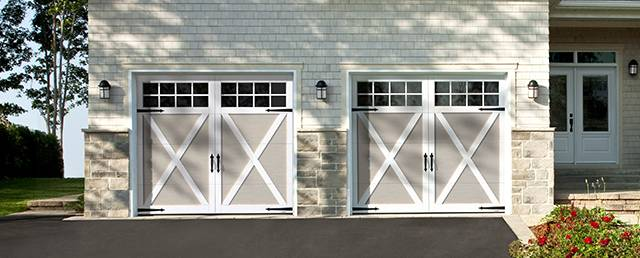 Lincoln Overhead Garage Door Repairs. Eastman E 21, 9u0027 X 7u0027, Claystone Doors  And Ice White